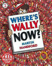 NEW small WHERE'S WALLY NOW  mini book with MAGNIFYING LENS