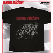 Easy Rider Posterized Bike Riders T-Shirt Small
