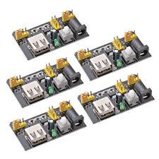 5X MB102 Netzteil Power Supply 3.3V/5V für Breadboard Steckbrett Modul Adapter