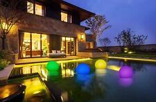 Lampada sfera giardino ebay