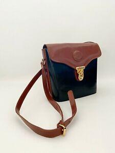 Vintage real leather  1990s handbag,classic Chiltern handbag