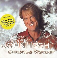 John Tesh - Christmas Worship (CD & DVD, 2 Discs, Garden City, AM) BN Sealed
