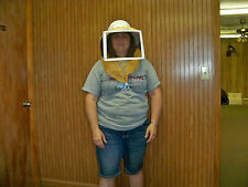 Square Folding Veil and Helmet for Beekeeping - Z401/42
