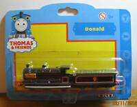 THOMAS THE TANK & FRIENDS-DIECAST ERTL DONALD-'2002'RARE/RETIRED **NEW IN PKG**