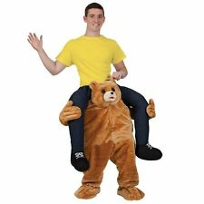 Teddy Bear Carry Me Ride On Piggy Back Mascot Costume Adults party Fancy Dress
