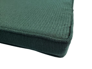 Forest Green Piano Bench Cushion Pad - Choose Size & Thickness