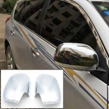 For Toyota RAV4 XA30 2006 - 2012 2Pcs Chrome Wing Rear view Mirror Trim Covers