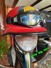 Chopper Helm Gr L Indianer Motiv Helme Bulzeye CASCO HELMET CASQUE BIKER Size.L