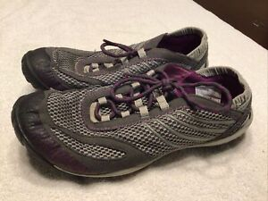 Women's Merrell Pace Glove Day Shadow Mocs Waterproof VIBRAM Shoes Size 7.5