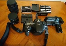 Sony Alpha a77 II DSLR Camera Bundle with grip, lenses and batteries