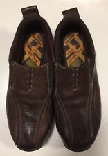 SKECHERS Relaxed Step Brown Leather Memory Foam Slip On Loafers - As New