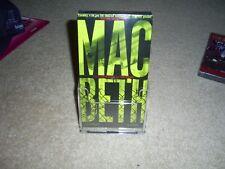 WILLIAM SHAKESPEARE'S MACBETH VHS 1997  SCACCHI CONTEMPORARY (RARE) NEW