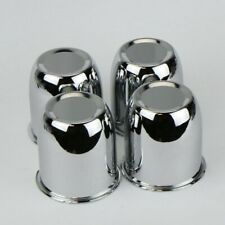 4 Chrome Center Caps For Trailer Wheel Rims 325 Center Bore