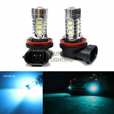 2x H11 H8 LED Fog Light Bulbs 15W SMD 5730 12V High Power Bright DRL Ice Blue