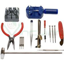 Kit 16x professionale strumenti riparazione orologio orologi maglie cinturini