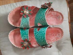 Damenschuhe Sandaletten Gr.40 Laura Vita