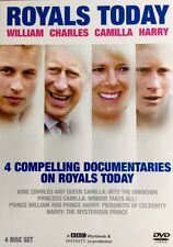 Royals Today Box Set 4 DVDs ~William ~ Charles ~ Camilla ~ Harry King Princes