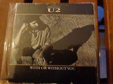 U2 - WITH OR WHITOUT YOU - 1 CDs ORIGINAL PRESS - ISLAND CID 319 - GATEFOLD