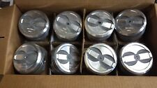 L2403F FORGED PISTONS TRW 350 CHEVY DISHED PISTONS STANDARD BORE SET OF 8