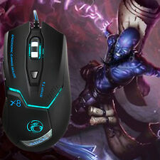 1600DPI 6D USB Wired Optical Gaming Mouse Mice For CF LOL Laptop PC