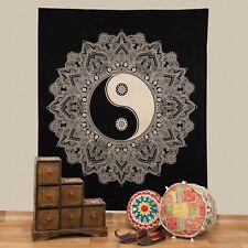Wall Hanging Bedspread Ying & Yang Deco Cloth India Mandala ca200x230cm
