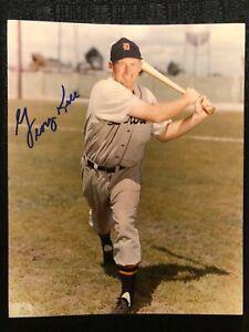 George Kell Signed Autographed Detroit Tigers 8X10 Baseball Auto Photo