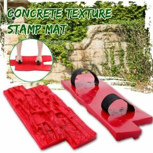 Concrete Stamps Molds Garden House Decor Texture Wall Floors Molds Plaster