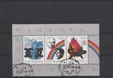 San Marino 1991 gestempeld block 14 - Nieuw Europa (SG167)