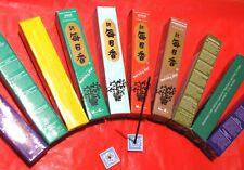 150 bastoncini incensI Giapponesi Nippon Kodo 3 profumi PATCHOULI LAVANDA CEDRO