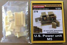 PLUSMODEL PLUS MODEL 378 - U.S. POWER UNIT M5 - 1/35 RESIN KIT