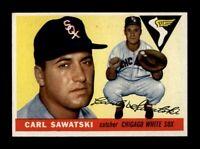 1955 Topps Baseball #122 Carl Sawatski (White Sox) NM