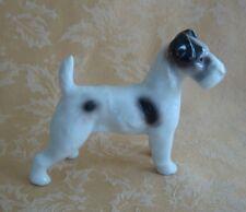 Vintage Erphila Germany Porcelain Fox Terrier Dog Figurine
