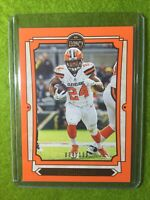 NICK CHUBB LEGACY BROWNS ORANGE #/199 SSP 2019 Legacy #25 (Baker Mayfield 's RB)