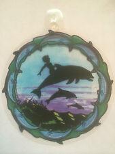 Sombra Magic Colgante Ventana print-dolphins - Festival / New Age / mítico