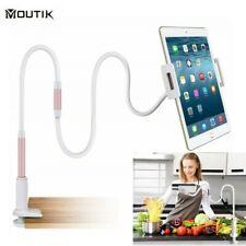 Handy Halterung Tisch Bett Schwanenhals Halter für Tablet iPhone Samsung iPad DE