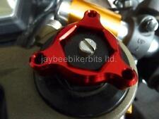 Horquilla pre carga ajustadores 17mm Rojo Triumph Daytona 675r 2011-2012 Nueva r1b9