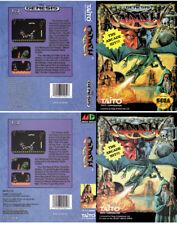 Cadash Sega Genesis & PAL Replacement Box Art Case Insert Reproduction
