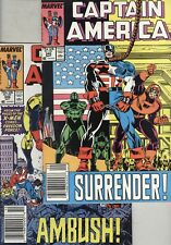 Captain America #345 and #346