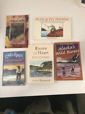 Fly Fishing Lot Of 5 Books k6