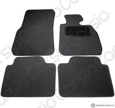 BMW 3 Series F30/F31 2012 -> Fully Tailored Black Car Floor Mats Carpets 4pc Set