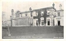 Herts - ABBOTS LANGLEY, Hazlewood,  House after the Fire, March 16th 1908