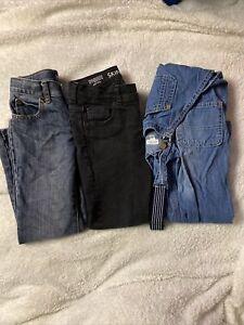 Gymboree Boy/'s Skinny Dark Gray Denim Stretch Jeans w// Adj Waist NWT 201