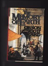 HOMECOMING VOL. I---THE MEMORY OF EARTH---ORSON SCOTT CARD---1s1st1992---TOR