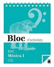 (CAT).(15).BLOC MUSICA I ESO (1R.CYCLE ESO). ENVÍO URGENTE (ESPAÑA)