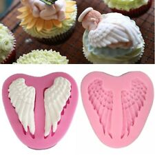 3D Silicone Angel Wings Soap Mould Chocolate Cake Baking Fondant Decorating Mold