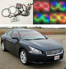 2x Excellent RGBW Multi-Color Angel Eyes Halo Rings For Nissan Maxima 2009-2014