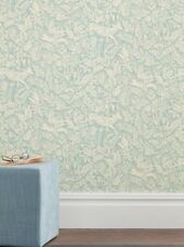 3x Next Teal Folkloric Animal Batch 4 Wallpaper Rolls Hare Bird Stag Woodland BN