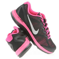 Nike Dual Fusion Run 3 GS Running Shoes NIB Youth Size 3.5 / 35.5  Black Pink