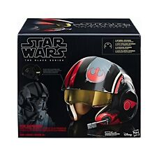 Star Wars Poe Dameron Electronic X-Wing Pilot Helmet Toy Cosplay Mask Gift