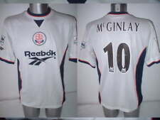 Bolton Wanderers John McGinlay Adult M Shirt Jersey Football Soccer Reebok 97/98